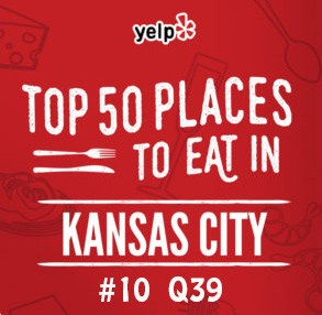 Yelp KC top 50 (q39)